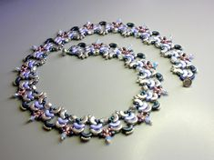 Tutorial  November guest Necklace  Arcos and Minos by zviagil