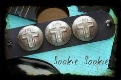 Sookie Sookie Spanish Cross Cuff, $64.00  www.DustyDiamondsBoutique.com