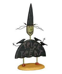 primitives by kathy wooden ghost figurine primitives halloween stuff and holidays halloween - Primitives By Kathy Halloween