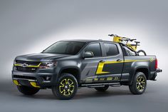 Chevrolet Shows Three Pickup Concepts at SEMA