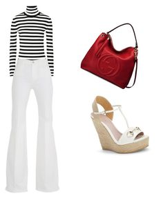 """""""Sin título #219"""" by shary-elivo on Polyvore featuring moda, Michael Kors, 7 For All Mankind y Gucci"""