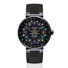 Louis Vuitton Introduces Its First Smartwatch - And It's Exactly as Chic as You'd Expect. #LVConnected