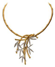 Carrera y Carrera - Collar Bambú