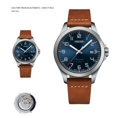 """About 1291 Swiss Time Traveller; Newly developed from the company 1291 is their latest creation an automatic watch the """"Time Traveller """" a casual dress wat Automatic Watch, Time Travel, Chronograph, Michael Kors, Mens Fashion, Unisex, Watches, Passion, Face"""