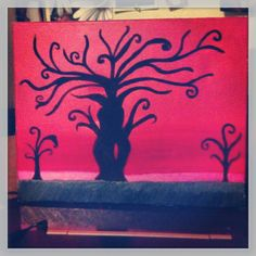 Goddess tree painting for my mother I am still working on