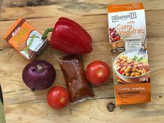Koolhydraatarme curry madras < Nadia's Healthy World Lidl, Curry, Fruit, Vegetables, Healthy, Food, Fitness, Kalay, Veggie Food