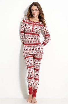 f0ef6551b Sexy Lips Adult Footed Onesies Pajamas