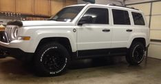 Wheels and tires on your Patriot (no spacers): Test Fit Results - Page 16 - Jeep Patriot Forums White Jeep Patriot, Jeep Patriot Lifted, 2014 Jeep Patriot Sport, Lifted Jeeps, Cheap Jeeps, Jeep Bumpers, Dodge Challenger Srt Hellcat, Jeep Mods, 2012 Jeep