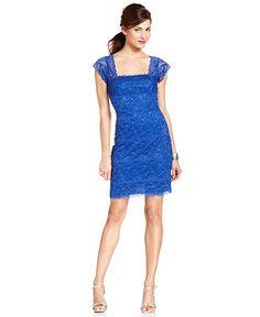Stunning electric blue dress
