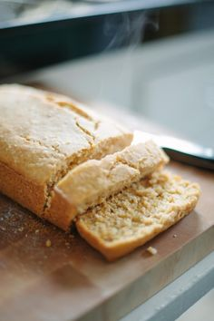 Gluten free coconut sweet potato bread