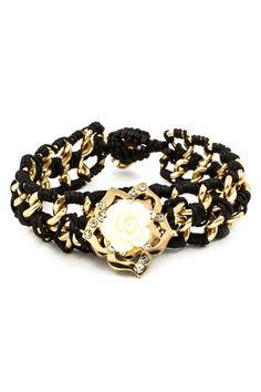 Ivory Rose Bracelet on Emma Stine Limited