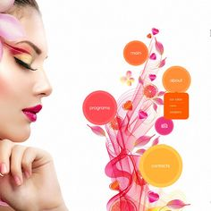 Beauty Salon Bootstrap Website Theme Small Screenshot
