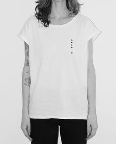 minimal t-shirt design silkscreen printed tandan