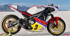 XSR900がカウル装着でスポーツ度アップ | WEBヤングマシン|最新バイク情報 Yamaha Motorcycles, Shape Design, Custom Bikes, Road Bike, Racing, Motorbikes, Running, Yamaha Motorbikes, Road Racer Bike