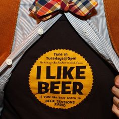 Yes, yes we do like beer!