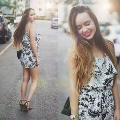 Ana Luísa Braun - Tfnclondon Jumpsuit, Chanel Bag, Zara Heels - Waiting for summer