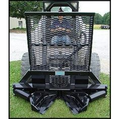 New Tree Terminator Tree Shear Skid Steer Attachment for Bobcat Tractor Mount Logging Equipment, Lawn Equipment, Heavy Equipment, Garden Equipment, Skid Steer Attachments, Tractor Attachments, Stump Removal, Landscaping Equipment, Bobcat Skid Steer