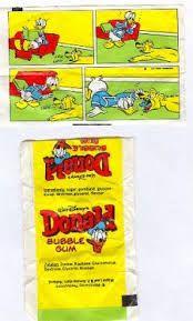 Donald Bubble gum with a little comic inside