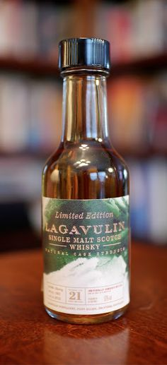 The Lagavulin 21 Year 2012 Limited Edition Single Malt Scotch Whisky
