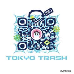 QR code TOKYO TRASH (Japan)