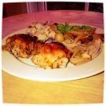 Oven-roasted Lemon-Pepper Chicken