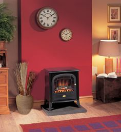 Our electric stove fires combine traditional log-effects with intuitive, modern design. Buy your electric stove fire online or from our Manchester store. Electric Log Burner, Electric Logs, Electric Stove Fireplace, Dimplex Electric Stove, Electric Fireplaces, Dimplex Fires, Stoves For Sale, New Stove, Freestanding Fireplace