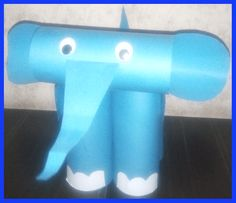 how to make paper elephant craft with paper folding