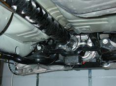 Carbon Fiber Drivetrain.