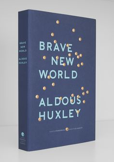 Brave New World by Aldous Huxley (Harper Perennial Modern Classics). Cover design by Milan Zrnic.