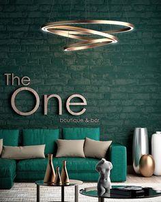 Arturo de la Peña | Arquitectos The One, green color, light, interior design, architecture Boutique Bar, Interiores Design, The One, Couch, Projects, Furniture, Home Decor, Architects, Colors