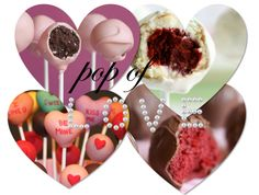 #valentines cake pops