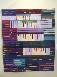 Solids quilt, 2013 Tokyo International Great Quilt Festival. Photo by SewBlossomHeart via Flickr.