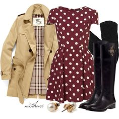 """""""Cute Fall Outfit"""" by natihasi on Polyvore"""
