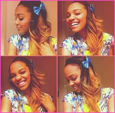 China Anne McClain Dyes Her Hair December 2012