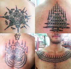 Thai tattoo [sak yant ink]