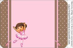 Kit Festa Dora Bailarina Para Imprimir Grátis