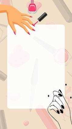 Panda Wallpaper Iphone, Watercolor Wallpaper Iphone, Glitter Wallpaper, Nail Salon Design, Nail Salon Decor, Nail Parlour, Disney Acrylic Nails, Kitty Drawing, Wallpaper Shelves