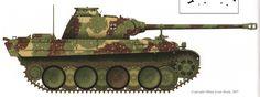 Пантера-G. 1 роты из LSSAH. Франция