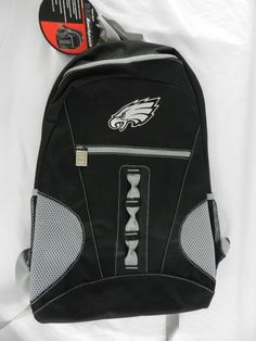 NEW NFL Football School Backpack Gym Bag Back Pack Philadelphia Eagles  Black  Unbranded  PhiladelphiaEagles af1479affea45