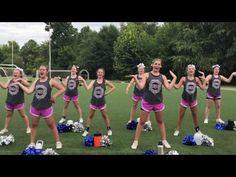 YouTube Varsity Cheer, Football Cheer, Cheer Camp, Cheer Dance Routines, Cheer Practice, Cheerleading Chants, Cheer Stunts, Cheer Coach Shirts, Cheer Coaches