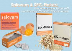 """""""Salovum & SPC-Flakes: How Antisecretory Factor (AF) Can Decrease Meniere's Disease Vertigo"""" -- I have started hearing about spc-flakes in particular and began researching; this post from """"Menieres: An Inner (Ear) Journey"""" collates and summarizes a lot of it and adds information about Salovum, as well."""