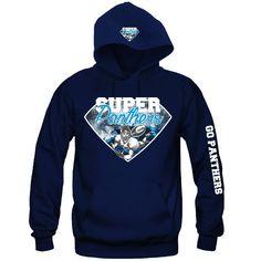 """Super Carolina Panther Hoodie """"3 Prints"""" Sports Clothing"""