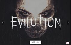 Take a look at Evilution Free Horror Font, this typeface is wonderful for upcoming halloween or horror related projects such as party flyers, movie posters, album artwork and book covers, and much more. The font comes with detailed strokes and un-even metrics which give it a hand written (in blood) effect. Now you can scroll down and download it just a click! Enjoy!