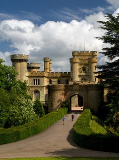 Eastnor Castle, Herefordshire, England I believe this is a hotel now. built in 1812 by Robert Smirke and the Gothic Drawing Room was designed by AWN Pugin Beautiful Castles, Beautiful Buildings, Beautiful Places, Palaces, Photo Chateau, Eastnor Castle, Norman Castle, Castles In England, English Castles