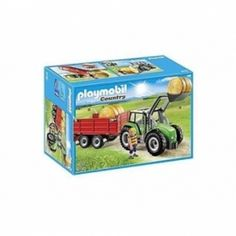 PLAYMOBIL COUNTRY TRATTORE C/RIM,6130