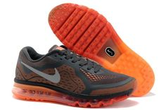 reputable site b1a0e 16466 Authentic Nike Shoes For Sale, Buy Womens Nike Running Shoes 2014 Big  Discount Off Nike Air Max 2014 Mens Black Orange Shoes [ -