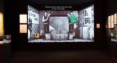 David Bowie is exhibition - Clémence Farrell scenography agency
