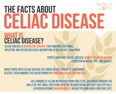 The only treatment for #CeliacDisease is a 100% #glutenfree diet. #celiac #gluten #infographic