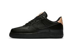 This Iconic Nike Air Force 1 Low Welcomes Premium Leather Detailing