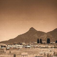 Capulin Volcano National Monument by JFantasma Photography.  Love the canvas look!  #faa